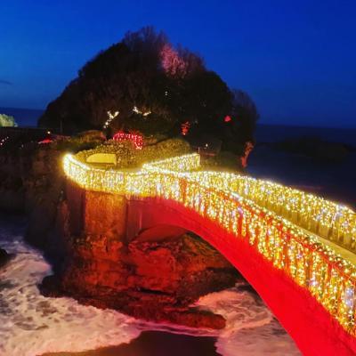 Rocher de la Vierge - Illuminations Biarritz 2020