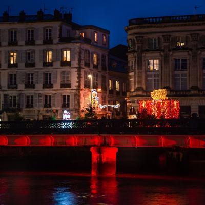 Esplanade Mairie - Illuminations Bayonne 2020