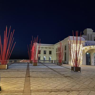 Esplanade Casino - Illuminations Biarritz 2020
