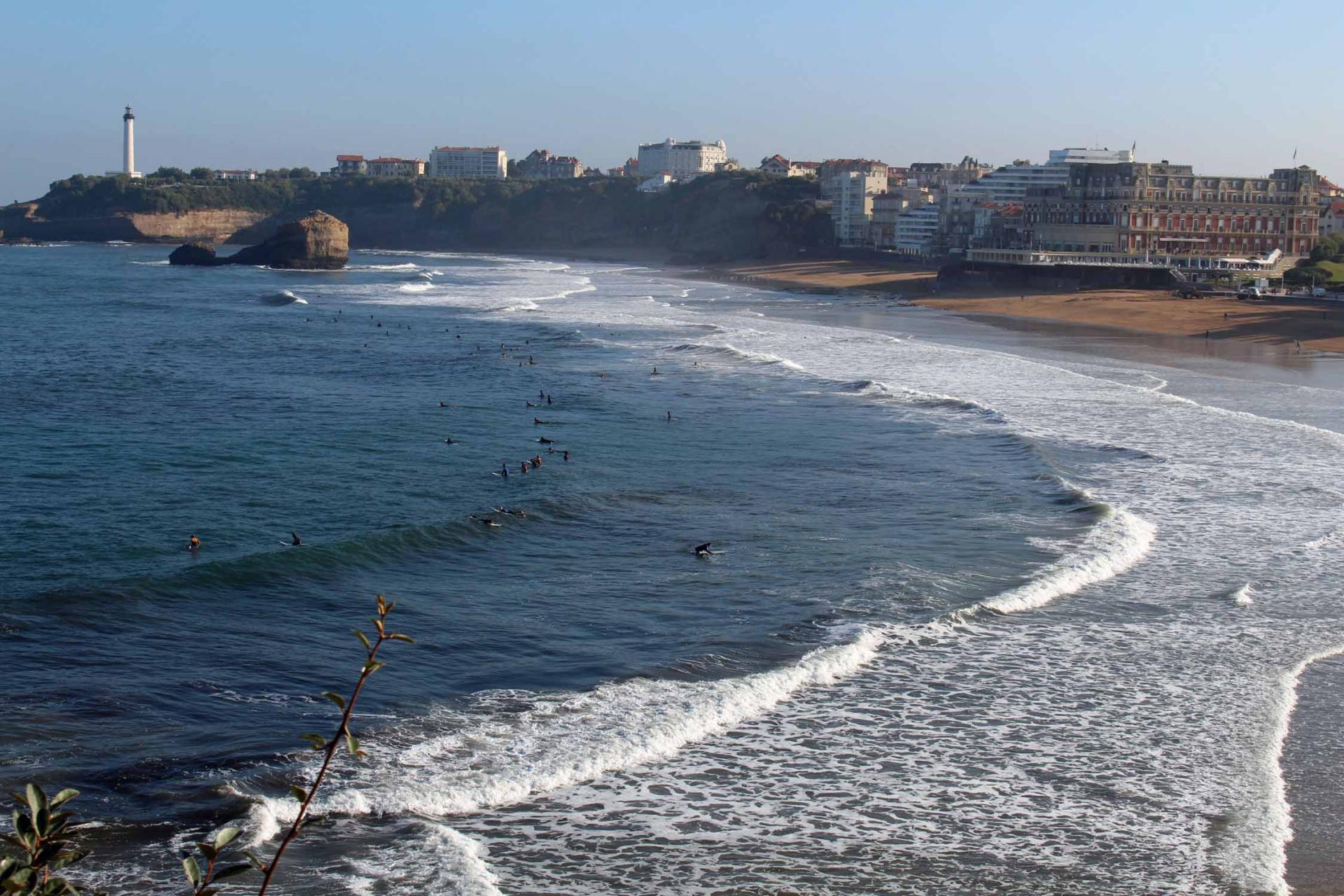 Biarritz grande plage